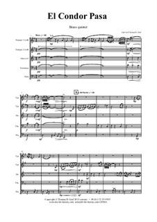 El condor pasa: Para quinteto de metais by folklore