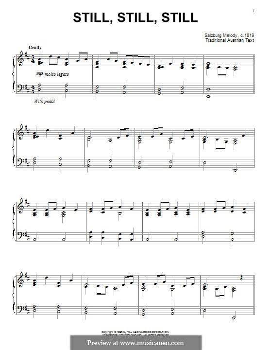 Still, Still, Still: Para Piano by folklore