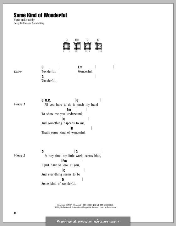 Some Kind of Wonderful (Toploader): Letras e Acordes by John Ellison