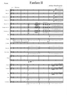 Fanfare II: Fanfare II by Arthur Orenburgsky