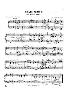 Scenes from Childhood, Op.81: Pieces No.1-8 by Theodor Kullak