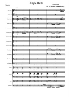 Jingle Bells: For big band by James Lord Pierpont