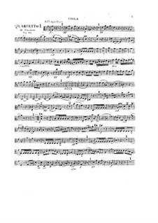 Three String Quartets No.10-12, Op.10: Viola and сello parts by Georges Onslow