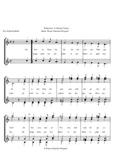 Winterreise, Op.23: Nr.34 Gefrorne Tränen by Werner Schneider-Wiegand