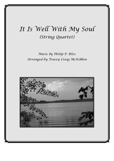 It Is Well with My Soul: para quartetos de cordas by Philip Paul Bliss