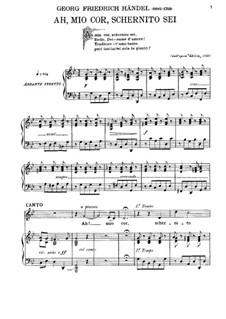 Alcina, HWV 34: Ah! mio cor, schernito sei by Georg Friedrich Händel