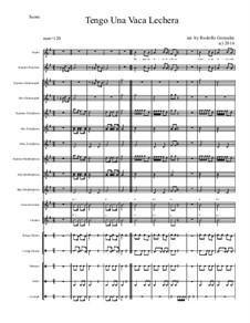 Tengo Una Vaca Lechera for Elementary Mariachi Orff Ensemble: Tengo Una Vaca Lechera for Elementary Mariachi Orff Ensemble by folklore