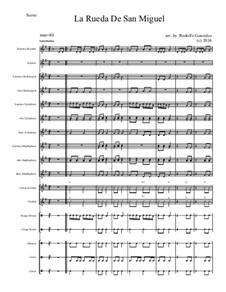 La Rueda de San Miguel: For elementary mariachi orff ensemble by folklore