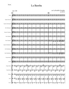 La Bamba: For elementary mariachi orff ensemble by folklore, Ritchie Valens
