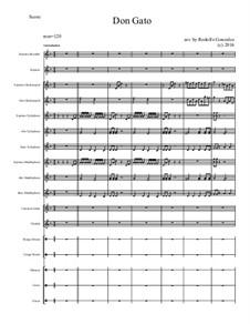 Don Gato: For elementary mariachi orff ensemble by folklore