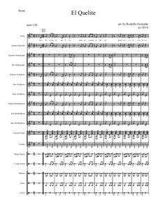 El Quelite for Elementary Mariachi Orff Ensemble: El Quelite for Elementary Mariachi Orff Ensemble by folklore