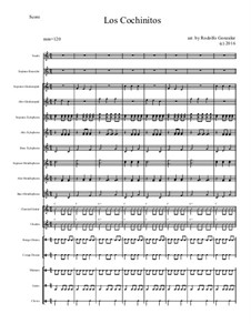 Los Cochinitos for Elementary Mariachi Orff Ensemble: Los Cochinitos for Elementary Mariachi Orff Ensemble by folklore