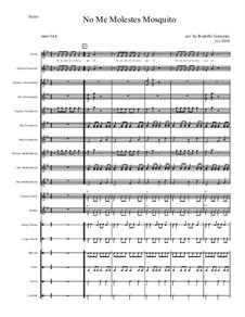 No Me Molestes Mosquito for Elementary Mariachi Orff Ensemble: No Me Molestes Mosquito for Elementary Mariachi Orff Ensemble by folklore