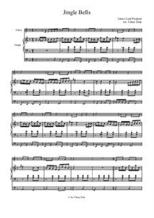 Jingle Bells: Para oboé e órgão by James Lord Pierpont