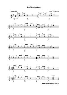Sad Ballerina, Op.4: Sad Ballerina by Oleg Kopenkov