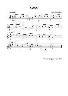 Lullaby, Op.4: canção de ninar by Oleg Kopenkov
