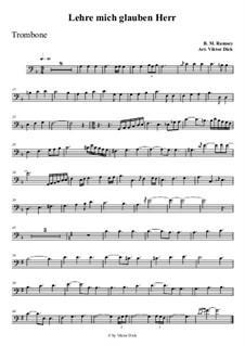 Teach Me Thy Way, O Lord: para trombone by Benjamin M. Ramsey