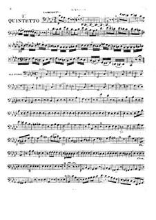 Woodwind Quintet in F Minor, Op.99 No.2: parte fagote by Anton Reicha