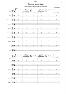 Natalka Poltavka: Song of Peter, for solo and orchestra by Mykola Lysenko