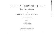 Twelve Monologues for Organ, Op.162: Twelve Monologues for Organ by Josef Gabriel Rheinberger