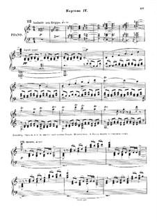 Christmas Eve. Opera: Act II, Scene IV by Nikolai Rimsky-Korsakov