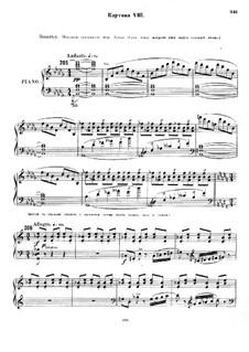 Christmas Eve. Opera: Act III, Scene VIII by Nikolai Rimsky-Korsakov