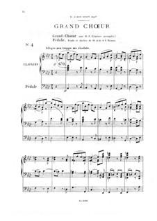 Twelve Pieces-Novellas for Organ, Op.59: No.4 Grand Choir by Théodore Salomé