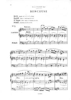 Twelve Pieces-Novellas for Organ, Op.59: No.5 Berceuse by Théodore Salomé