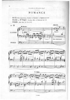 Twelve Pieces-Novellas for Organ, Op.59: No.8 Romance by Théodore Salomé