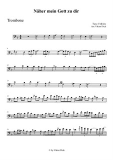 Nearer My God To Thee: para trombone by folklore