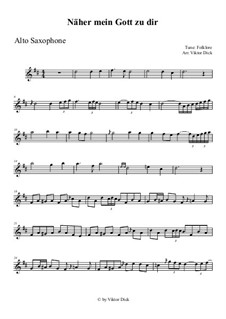 Nearer My God To Thee: para Saxofone Alto by folklore