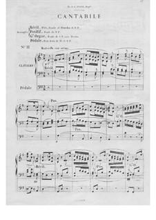 Twelve Pieces-Novellas for Organ, Op.59: No.11 Cantabile by Théodore Salomé