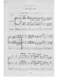 Twelve Pieces-Novellas for Organ, Op.59: No.12 March by Théodore Salomé