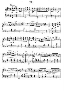 Polish National Dances, Op.3: eletronica No.3 by Xaver Scharwenka