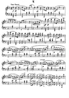 Polish National Dances, Op.3: Dance No.5 by Xaver Scharwenka