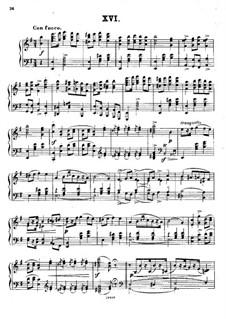 Polish National Dances, Op.3: Dance No.16 by Xaver Scharwenka