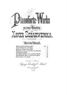 Polish National Dances, Op.3: Dances No.1-5 by Xaver Scharwenka