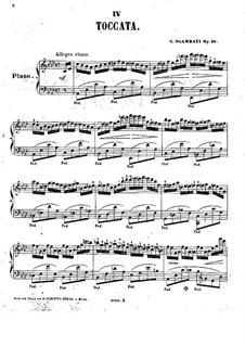No.4 Toccata in A Flat Major: No.4 Toccata in A Flat Major by Giovanni Sgambati