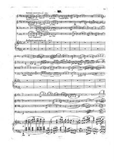 Piano Quintet No.1 in F Minor, Op.4: Movimentos III, IV by Giovanni Sgambati