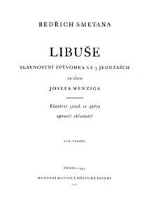 Libuše, T.107: para solistas,coral e piano by Bedřich Smetana