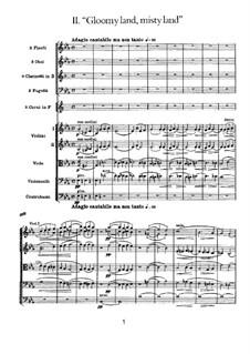 Symphony No.1 in G Minor 'Winter Daydreams', TH 24 Op.13: movimento II by Pyotr Tchaikovsky