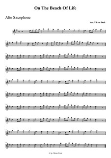 Lost in Wonder Love and Praise: para Saxofone Alto by folklore