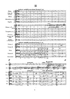 Movement II: partitura completa by Pyotr Tchaikovsky