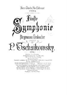 Complete Movements: para dois pianos para oito mãos - piano parte II by Pyotr Tchaikovsky