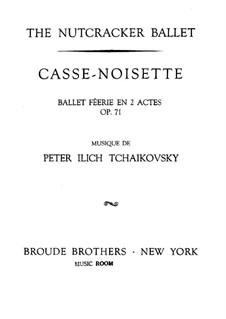 Fragments: abertura by Pyotr Tchaikovsky
