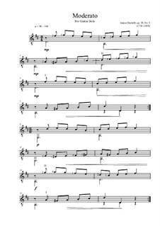 Moderato, Op.39 No.5: Moderato by Anton Diabelli