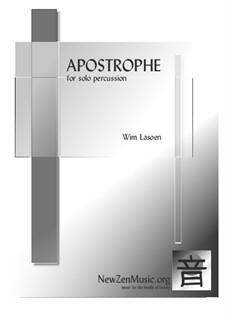 Apostrophe: Apostrophe by Wim Lasoen
