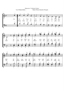 Winterreise, Nr.26-97, Op.23: Nr.35 Gefrorne Tränen by Werner Schneider-Wiegand