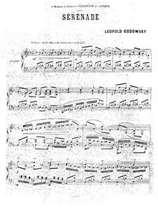 Serenade in F Major: Serenade in F Major by Leopold Godowsky