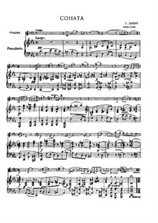 Eight Sonatas for Violin and Basso Continuo, C.138-145: Sonata No.6, for violin with piano, C.143 by Heinrich Ignaz von Biber